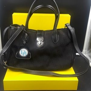 Dooney and bourke black small purse